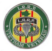 LRRP Vietnam Veteran Patch