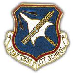 Test Pilot School Pin