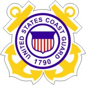 Coast Guard Crest Auto Magnet
