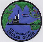 USS Pintado SSN 672 - Indian Ocean Cruise Patch
