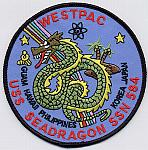 USS Sea Dragon SSN 584 Patch