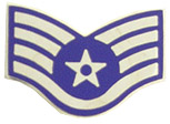 US Air Force Staff Sergeant E-5 Pin