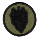 24th Infantry Division Patch - Subdued