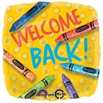 "17"" Crayola Box-Welcome Back Helium Savers Balloon"