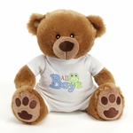 "9"" Boy Onesie Bear"