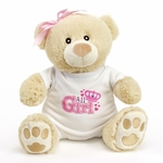 "9"" Girl Onesie Bear"