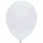 "16"" White Latex Balloons"