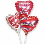 4'' Valentine's Day Air-Filled Balloons