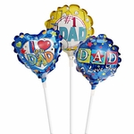 "4"" Father's Day Air-Filled Balloons"
