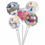 "4"" Grandparents Day Air-Filled Balloons"