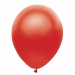 "11"" Satin Red Latex Balloons"