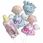 "14"" Baby Air-Filled Shape Balloons"