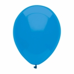 "11"" Bright Blue Latex Balloon"