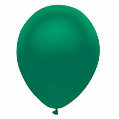 "11"" Satin Forest Green Latex Balloons"