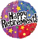 "17""/18"" Retirement Balloons"
