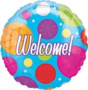 "17""/18"" Welcome Balloons"
