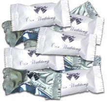 """Quick Ship"" Wedding Favor Mints (100 mints)"