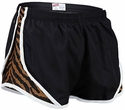 Soffe�s Black & Tiger Print Track Shorts
