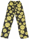 Softball Print Fleece Lounge Pants