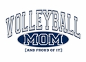 Volleyball Mom / Grandma, Proud Of It Hoodie - in 20 Colors