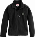 Ladies Fitted Fleece Volleyball Embroidered Jacket