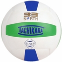 Tachikara Lime-White-Royal 33 North Outdoor Volleyball