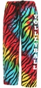 Tie-Dye Zebra Stripe Flannel Pants - Choice of 22 Sport Imprints - Leg or Rear