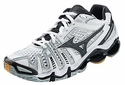Mizuno Wave Tornado 8 Women's White & Black Volleyball Shoes