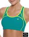 Blue & Yellow Champion Double Dry� Cotton Fitness Sports Bra