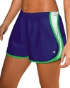 Blue & Green Champion Double Dry Women's Sport Shorts