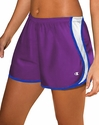 Purple & Blue Champion Double Dry Women's Sport Shorts
