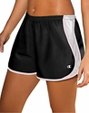 Black & Light Pink Champion Double Dry� Women's Sport Shorts