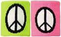 Peace Sign Terry Cloth Wristbands - in 2 Colors
