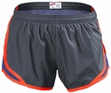 Soffe�s Metal Grey & Blue w/ Orange Piping Track Shorts
