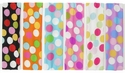 Retro Multi-Color Dots Nylon Headbands - in 6 Colors