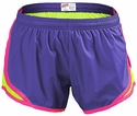 Soffe�s Violet & Neon Yellow w/ Pink Piping Track Shorts