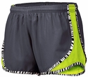 Soffe�s Metal Grey & Neon Yellow Zebra Pipe Track Shorts