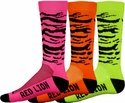 Zebra / Tiger Stripe Crew Socks - 4 Color Options