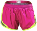 Soffe�s Hot Pink & Metal Grey  w/ Neon Yellow Piping Track Shorts