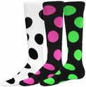 Bubble Dot Knee High Socks - in 9 Colors