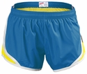 Soffe's Blue Aster & Yellow Track Shorts