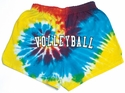 Rainbow Tie-Dye Shorts - Choice of 22 Sport Imprints on Rear