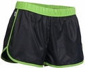 Soffe's Black & Lime Green Pop Slick Shorts
