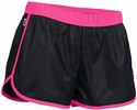 Soffe's Black & Neon Pink Pop Slick Shorts