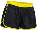 Soffe's Black & Neon Yellow Pop Slick Shorts