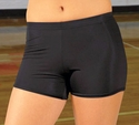 Womens X-Dri Volleyball Compression Shorts - in 7 Team Colors