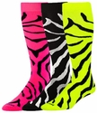 Zebra Stripe Knee-High KraziSox � in 7 Colors
