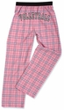 Adult Flannel Pajama Pants - Choice of 22 Sport Imprints on Rear - in many Plaid Colors
