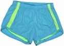 Blue & Lime Endurance Short w/ Compression Liner