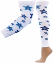 Blue Stars Leg / Arm Warmers � in 2 Sizes